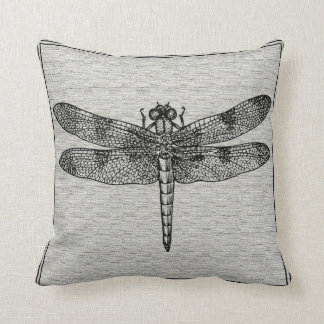Simply Stunning Dragonfly Throw Pillow