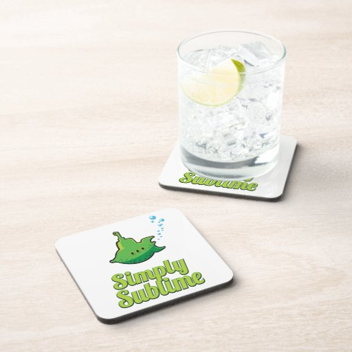 Simply Sublime. Drink Coasters