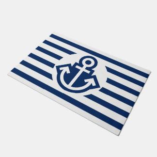 Simply Symbols - ANCHOR & STRIPES + your ideas Doormat