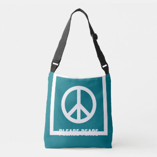 Simply Symbols / Icons - PEACE + ideas Crossbody Bag
