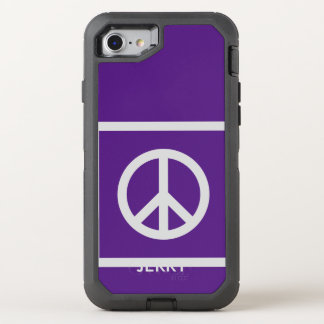 Simply Symbols / Icons - PEACE + ideas OtterBox Defender iPhone 8/7 Case