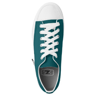 Simply Teal Low Top Shoes Printed Shoes