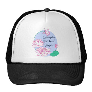 Simply the Best Mom Mesh Hats