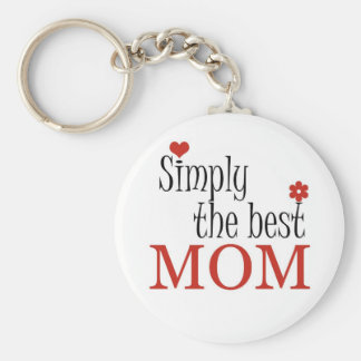 Simply the best MOM - Keychain