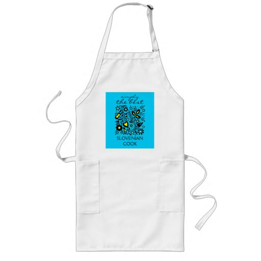Simply The Best Slovenian Cook, Decorated Apron