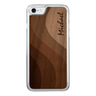 Simply Toned Carved iPhone 7 Case