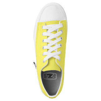 Simply Yellow Low Top Shoes