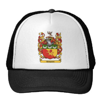 Simpson Crest - Coat of Arms Cap