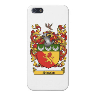 Simpson Crest - Coat of Arms iPhone 5/5S Cases