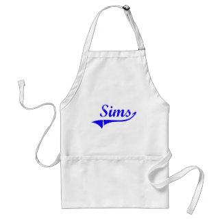 Sims Surname Classic Style Standard Apron