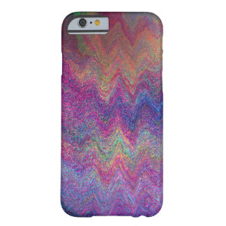 Simulated Metallic Paint Multi-colored Barely There iPhone 6 Case