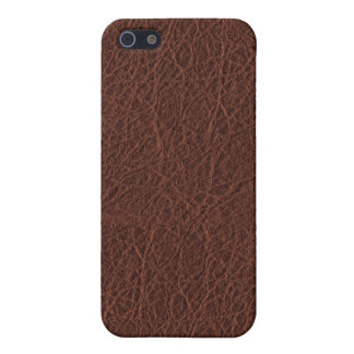 Simulated Western Leather Cover For iPhone 5/5S