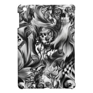 Sin and smoke melting skulls iPad mini cases