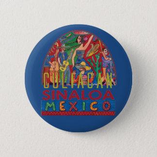 SINALOA Mexico 6 Cm Round Badge