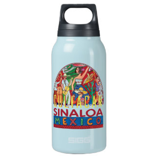 SINALOA Mexico Insulated Water Bottle