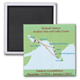 Sinbad's Sailors Fridge Magnet