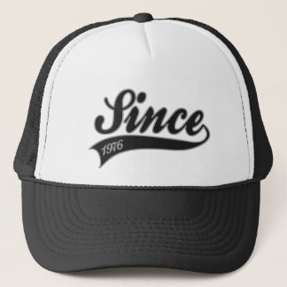 since1976 - birthday trucker hat