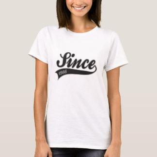 since1986 - birthday T-Shirt