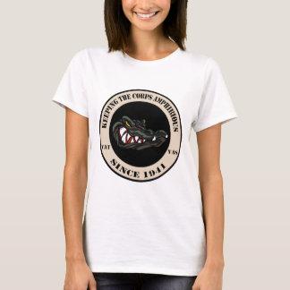 Since 1941 Tan with black camo gator T-Shirt