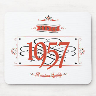Since 1957 (Red&Black) Mouse Pad