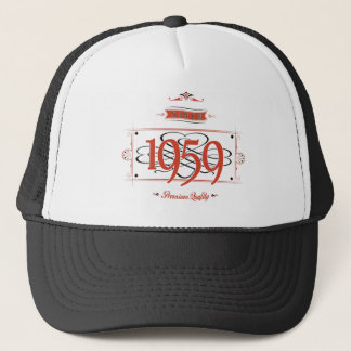 Since 1959 (Red&Black) Trucker Hat