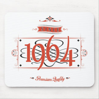 Since 1964 (Red&Black) Mouse Pad