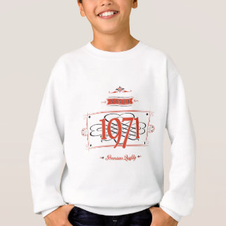 Since 1971 (Red&Black) Sweatshirt