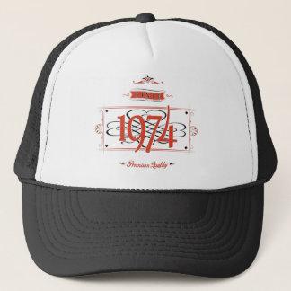 Since 1974 (Red&Black) Trucker Hat