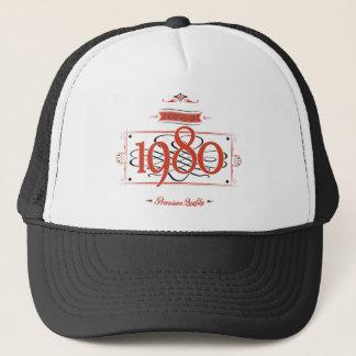 Since 1980 (Red&Black) Trucker Hat