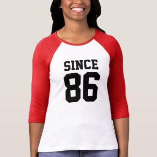 Since 1986 t shirt