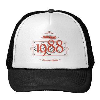 Since 1988 (Red&Black) Cap