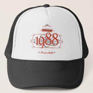 Since 1988 (Red&Black) Trucker Hat