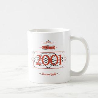 Since 2001 (Red&Black) Coffee Mug