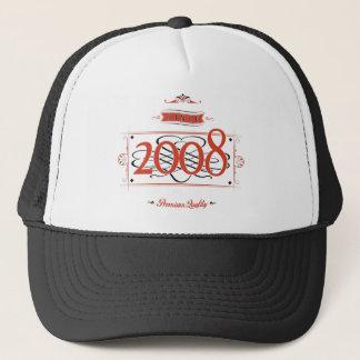 Since 2008 (Red&Black) Trucker Hat