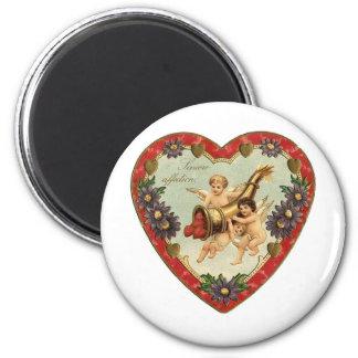 Sincere Affection (2) 6 Cm Round Magnet