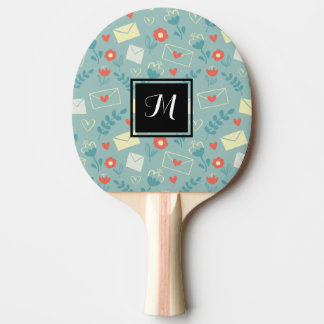 """""""Sincerely"""" Ping Pong Paddle"""