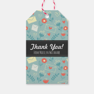 """""""Sincerely"""" Thank You Gift Tags"""