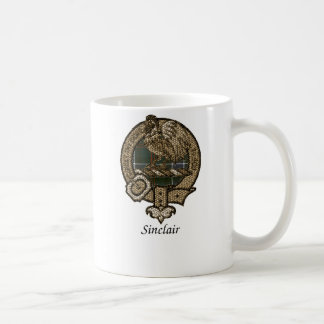 Sinclair Clan Crest Coffee Mug