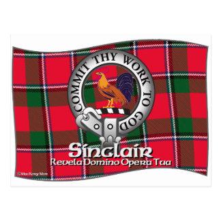 Sinclair  Clan Postcard