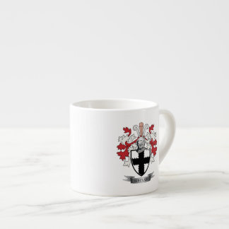 Sinclair Family Crest Coat of Arms Espresso Cup