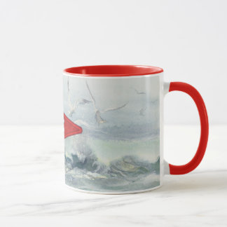 SINCLAIR INLET YACHT CLUB by SHARON SHARPE Mug