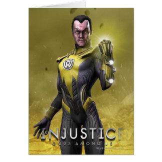 Sinestro Card