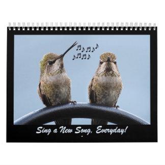 Sing A New Song Everyday Calendar