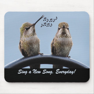 Sing A New Song Mouse Pad