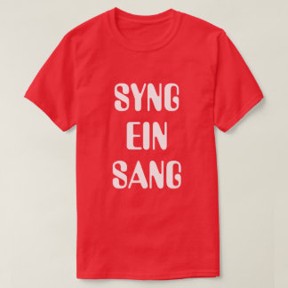 Sing a song in Norwegian red T-Shirt