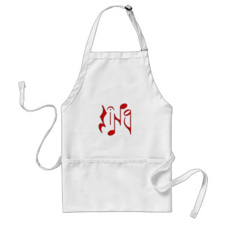 sing adult apron