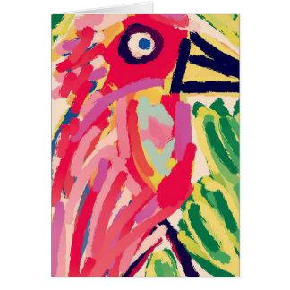 SIng Bird Card