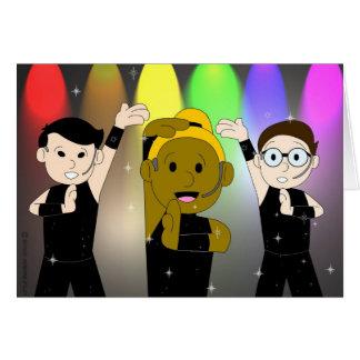 Sing, Dance, WURK Gay Birthday Card