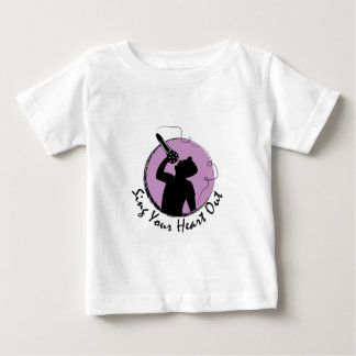 Sing Heart Out Baby T-Shirt