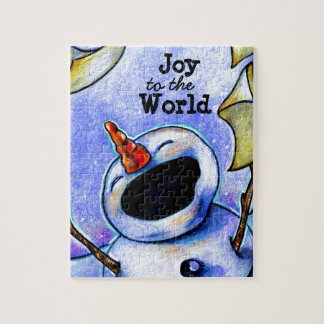 Sing Joy to the World Jigsaw Puzzle